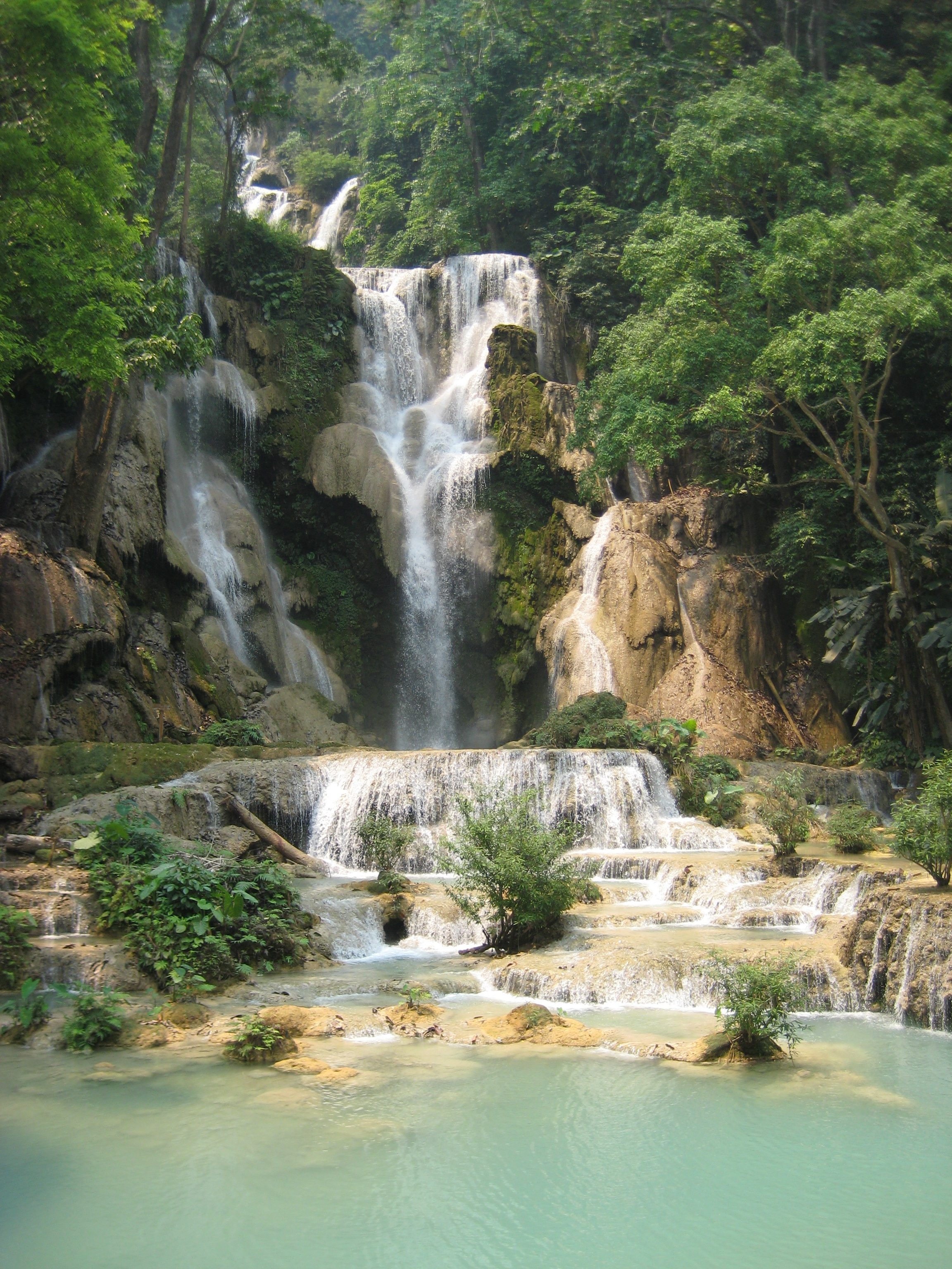 Kuang Xi Waterfall
