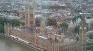 View Of British Parliament