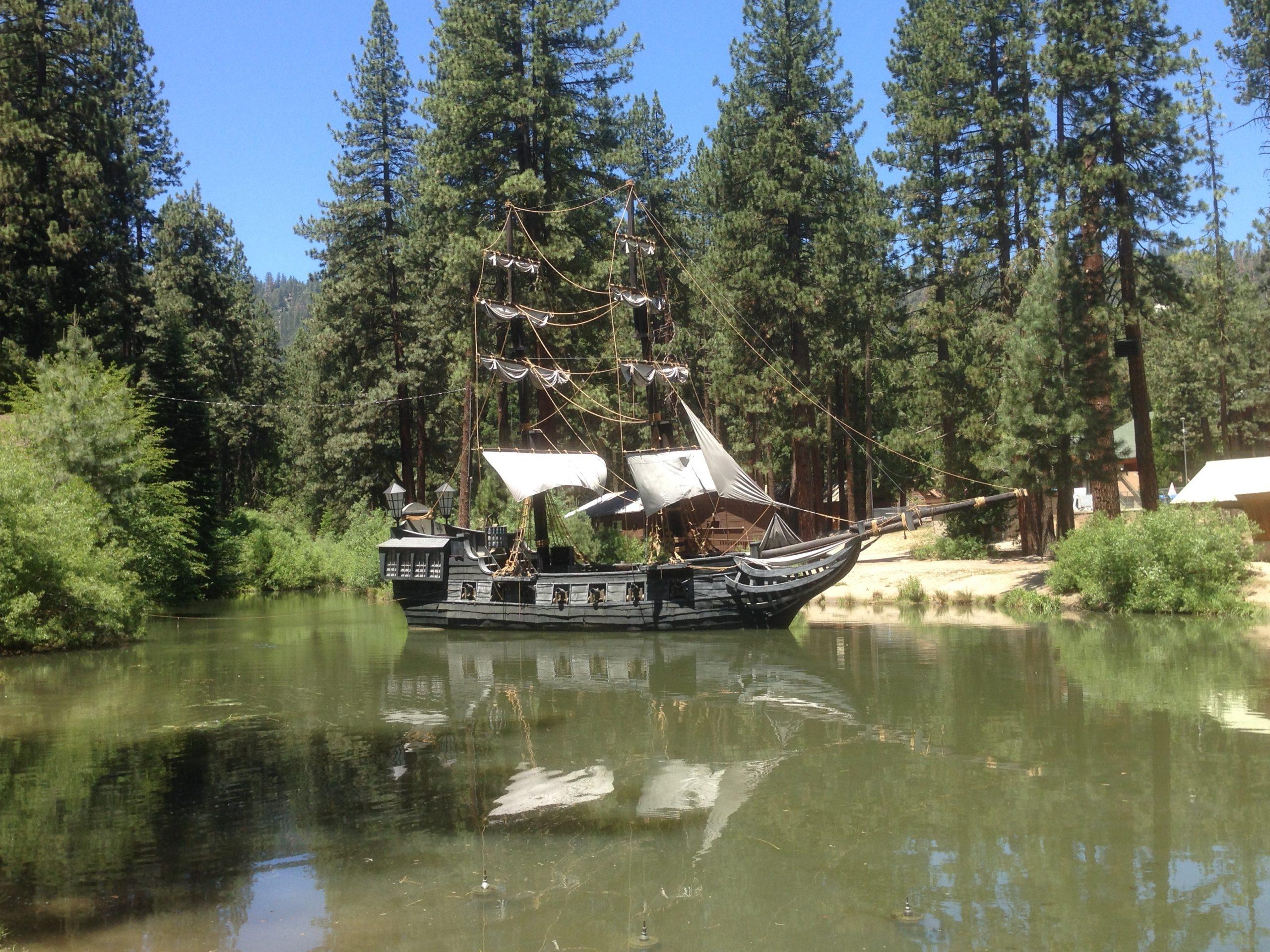 Hume Lake Pirate Ship