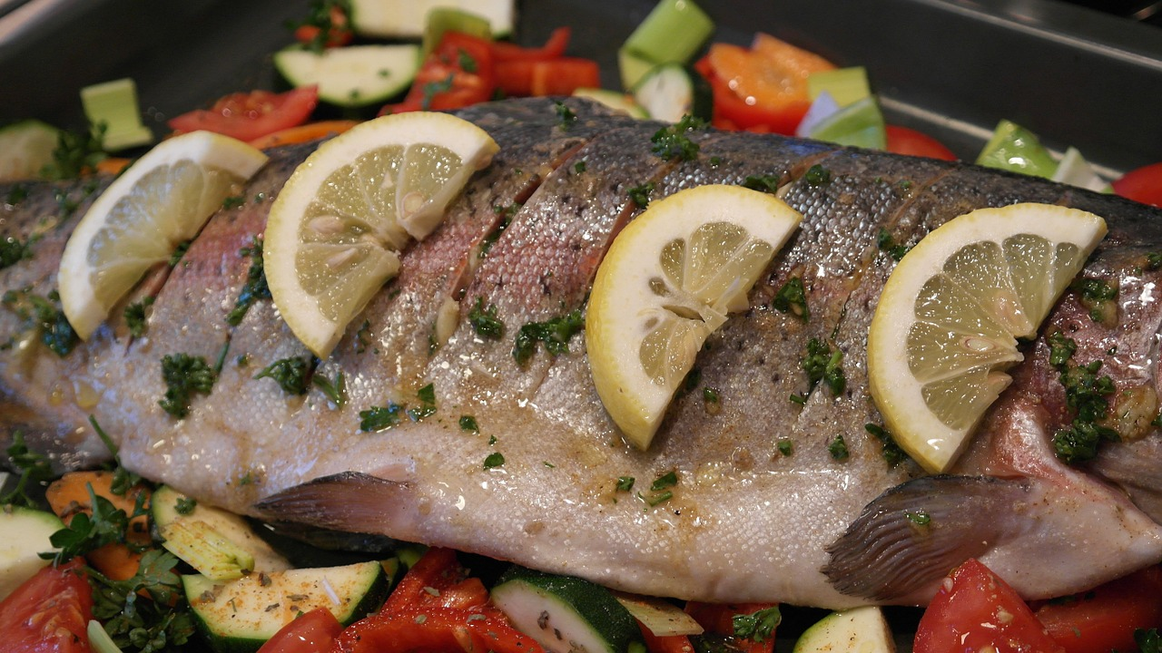 <strong>Trout</strong> <hr> Wonderful, mild fish. Easy to cook. Fresh, frozen, or smoked.