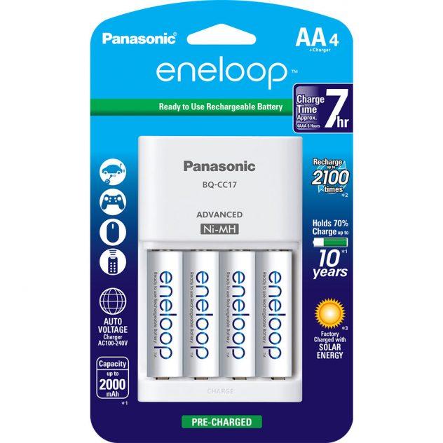 Panasonic Eneloop Rechargeable Batteries