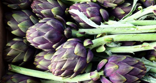 <strong>Artichokes</strong> <hr> I prefer artichoke hearts marinated in olive oil and vinegar, then add to a salad.