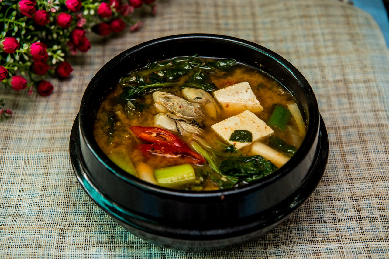 <strong>Miso</strong> <hr> Most popular as soup, including Ramen noodles, in Japanese cuisine. Can mix with all sorts of veggies.