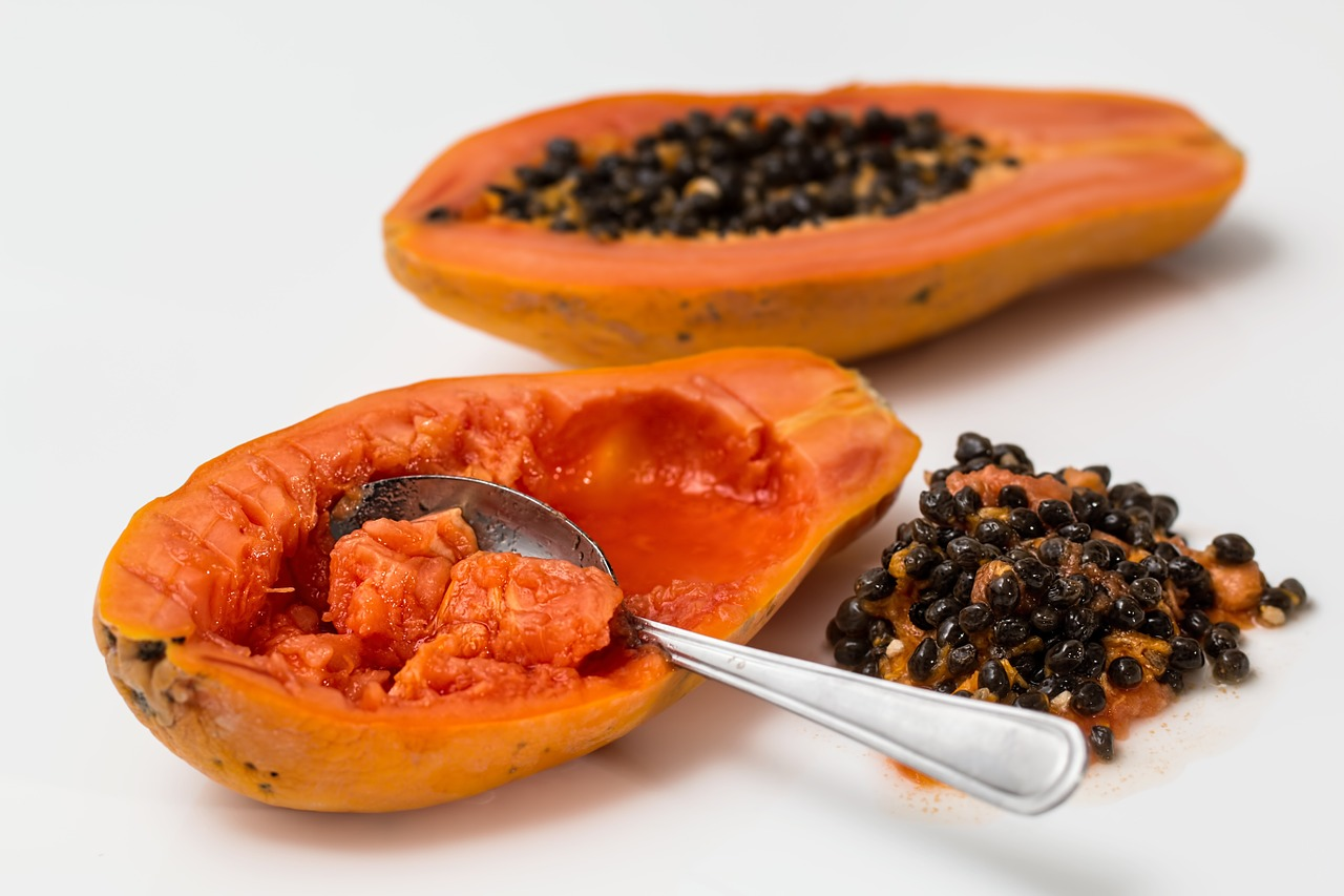 <strong>Papaya</strong> <hr> So good if you find them fresh, but they spoil quickly.