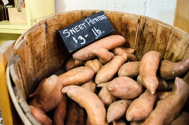 <strong>Sweet Potatoes</strong> <hr> Added nutrition in the skin. Don't over boil or soak, will leech nutrition.